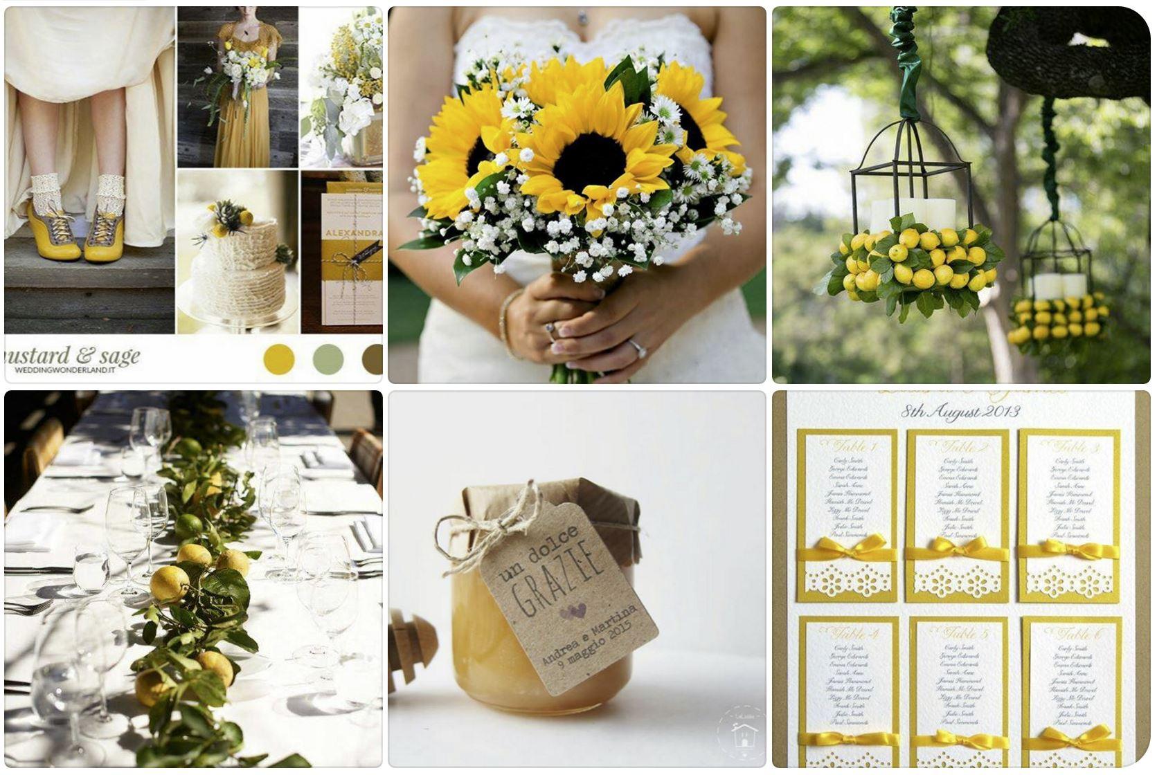 Matrimonio In Giallo E Bianco : Idee temi e colori per il vostro matrimonio 2017 movila